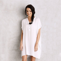Belize dress in white