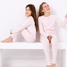 Pink skinny stripe pyjamas