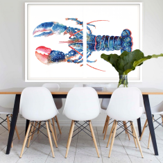 Mr Lobster, Framed Art