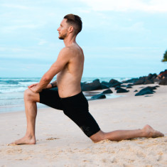 Men's yoga and pilates shorts