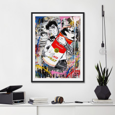 Don't Be Cruel by Mr Brainwash Street Art Print