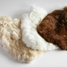 Alpaca Fur Hot Water Bottle