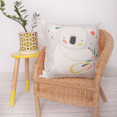 Pete Cromer koala design DIY cushion kit
