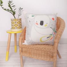 Pete Cromer koala design DIY cushion kit
