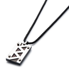 Jagged Bolt Necklace