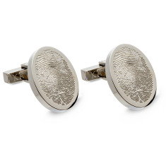 Thumbprint cufflinks