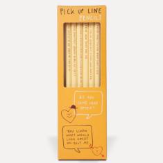 Funny Pick Up Line Pencils Set