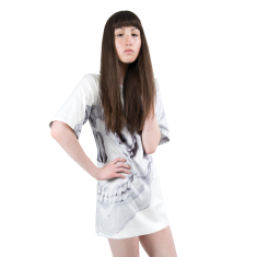 Beautiful End Tee Dress (exclusive print by Artist Julian Meagher)