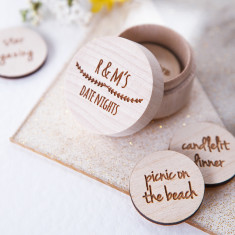 Personalised Date Night Token Box