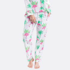 Flamingo women's pyjama pants