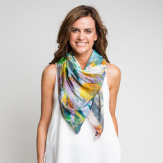 Serendipity square scarf