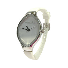Monol Denmark Slipp watch in white