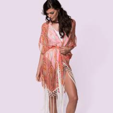 Cora Silk Tassel Kimono