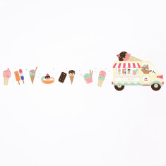 Ice Cream Truck wall sticker