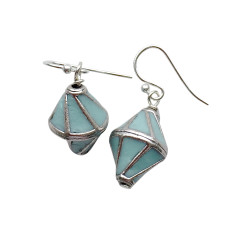 Nepalese sky earrings