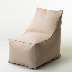 Glammsofa beanbag chair cover in beige