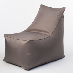 Glammsofa beanbag chair cover in taupe