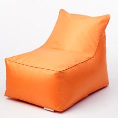 Glammmini beanbag chair cover in orange