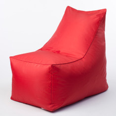 Glammsofa beanbag chair cover in red
