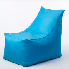 Glammsofa beanbag chair in aqua