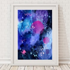 Limited edition abstract print (three styles)