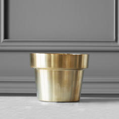 Brushed Flower Pot (Extra Small)