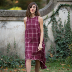 Haley Dress in Rosette