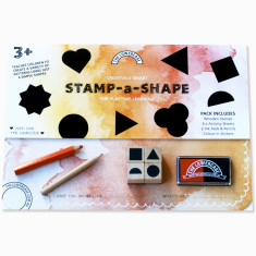 Stamp a shape early learning set