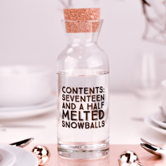Large Snowball Carafe