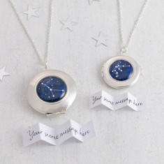 Personalised Zodiac Constellations Locket