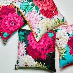 Bella Rosa cushion (various colours)