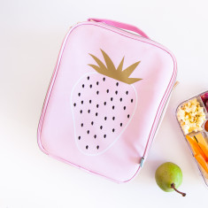 Personalised Strawberry Lunch Bag