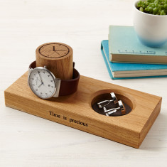 Cufflinks Tray and Watch Stand