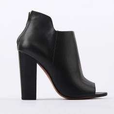 Emilia Black Leather boots