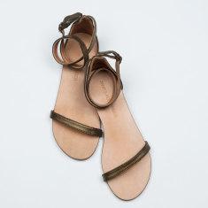 Capri bronze sandals