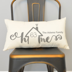 Personalised Home Rectangular Cushion