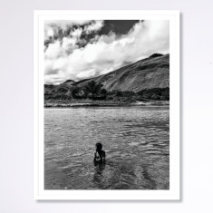 River Play - photographic artwork