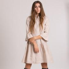Didi Dress in Wheat