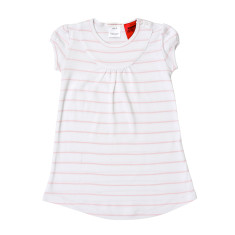 Pink and White Stripe Nightie