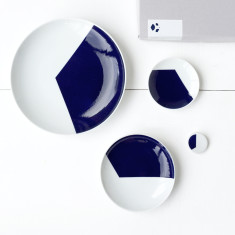 Hexagon plate set