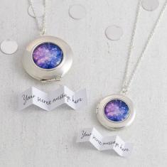 Personalised Fireworks Locket