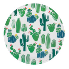 Cactus party plates (2 pack)