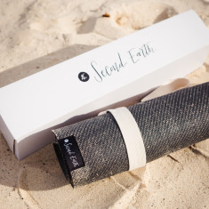 Eco-friendly Natural Rubber and Jute Yoga Mat