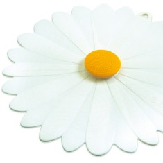 Charles Viancin Daisy White Silicone Lid