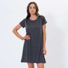 Charcoal Tee Dress