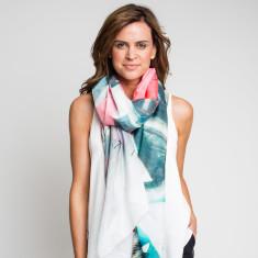 Key To My Heart oversized scarf