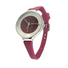 MONOL Denmark 2G watch in bordeaux