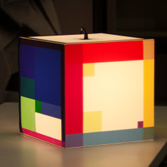Colour out your day light cube