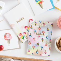 Sweet Treats Twin Notebooks Set