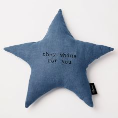 Star shaped They shine for you Cushion